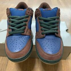 Nike Dunk Low Pro Sb Barf 304292-431 Navy/outdoor Size Us 9.5 Dead Stock