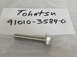 Z84 Tohatsu Genuine 91010-3584-0 Bolt oem New Factory Boat Parts