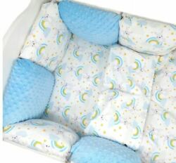 11pcs Pillow Bumper Toddler Bed Crib Bumpers Set Of Bedding For Cot Bed Dreams