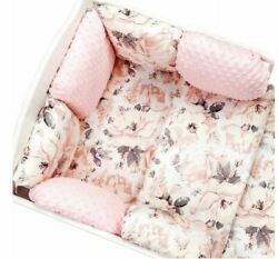 11pcs Pillow Bumper Toddler Bed Crib Bumpers Set Of Bedding For Cot Bed Spring