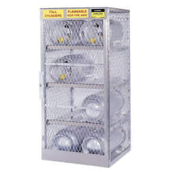 Justrite 23001 Gas Cylinder Cabinet30x32capacity 4
