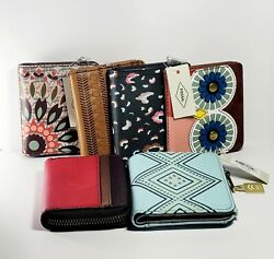 Fossil Wallets Passport Holders Coins and ID#x27;s Documents Holders. $28.00