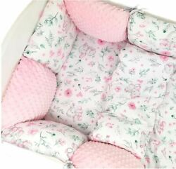 11-ps Pillow Bumper Toddler Bed Crib Bumpers Set Of Bedding For Cot Bed Elephant