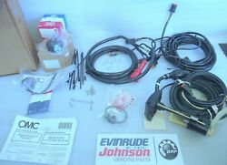 E1b New Oem 176345 Omc Engine Cable Extension Adapter Kit Oil Pick Up Horn