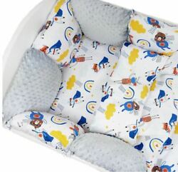Pillow Bumper 11pcs Toddler Bed Crib Bumpers Set Of Bedding For Cot Bed Cartoon