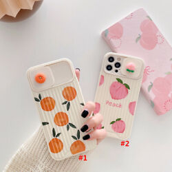 INS Cute Fruit Phone Case Cover For iPhone 11 12 12Pro Max X XR Xs 7 8 SE2020 $7.64