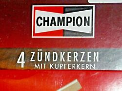 Set Of 4 Original Champion N9yc Oe001 Spark Plugs New In Box Nos Replaces N9y