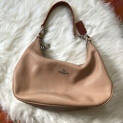 Coach Hobo Small Bag Snakeskin Light Pink $54.00