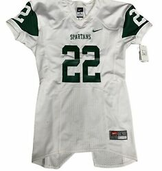 Rare Authentic Michigan State Nike Football Sample Game Jersey L. New