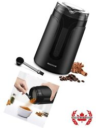 Electric Coffee Grinder Mill With Stainless Steel Blades Also For Herbs And Grains