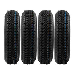 Set Of 4 Tires Trailer Tire And Rim Widthin 5.00 1660 Lbs Ply Rating 6
