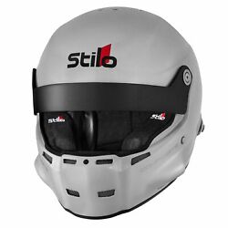 Stilo St5 R Composite Fia And Snell Approved Rally Helmet With Fhr Posts Silver