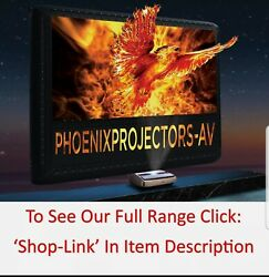 Xy Projector Screens Acoustic Black Crystal 120 Alr Ultra Thin Fixed Frame