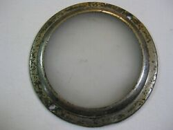 Vintage Antique Car Overhead Courtesy Dome Frosted Glass Lens Light Cover