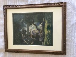 Maxfield Parrish Original Print - The Knave Of Hearts