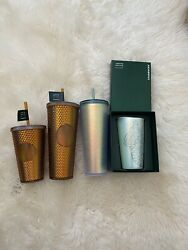 Starbucks 50th Anniversary Set Of 4 Tumblers Limited Edition