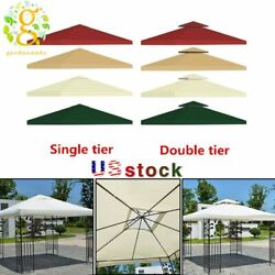 New Gazebo Canopy Top Replacement 12 Tier Patio Outdoor Sunshade Cover Us