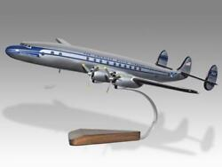 Lockheed L-049a Constellation Pan Am Paa Handcrafted Solid Wood Display Model