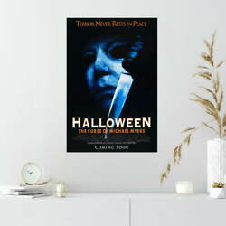 353127 Halloween 6 The Curse Of Michael Myers Movie Print Poster Ca