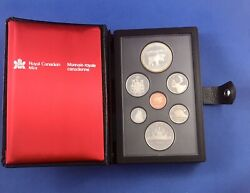 1985 Royal Canadian Mint Double Dollar Proof Set Uncirculated Original Packaging