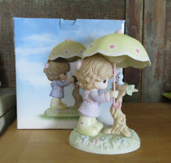 Precious Moments Girl Umbrella I'll Always Be There For You Very Hard To Find