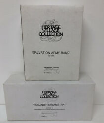 Dept 56 Salvation Army Band And Chamber Orchestra Figures