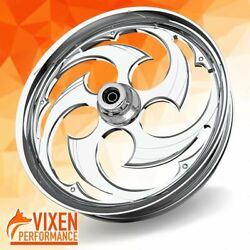 26 X 3.75 Swift Wheel And Front Tire - Chrome - 00-19 Harley Touring 26-251c-t