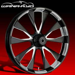 Ryd Wheels Diode Starkline 23 Fat Front And Rear Wheels Only 00-07 Bagger