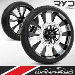 Diosl235183frwtdd07bag Diode Starkline 23 Fat Front And Rear Wheels Tires Packag