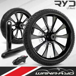 Diobl215184frwtsdk08bag Diode Blackline 21 Fat Front And Rear Wheels Tires Disk