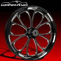 """Arc Starkline 21 X 5.5"""" Fat Front Wheel And 180 Tire Package 00-07 Touring"""