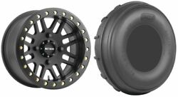 Mounted Wheel And Tire Kit Wheel 15x10 5+5 4/136 Tire 32x13-15 4 Ply