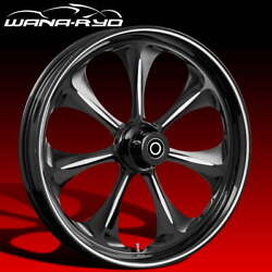 Ryd Wheels Atomic Starkline 21 Fat Front And Rear Wheels Only 00-07 Bagger