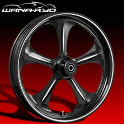 Ryd Wheels Adrenaline Starkline 21 Fat Front And Rear Wheel Only 09-19 Bagger