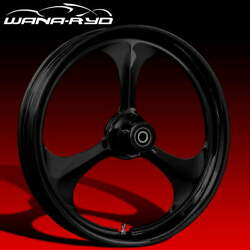Ryd Wheels Amp Blackline 18 Fat Front And Rear Wheel Only 09-19 Bagger