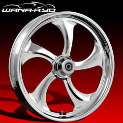 Ryd Wheels Rollin Chrome 23 Front And Rear Wheel Only 09-19 Bagger