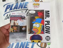 Tone Rodriguez Signed And Sketched Homer Mr Plow Funko Pop Jsa Coa The Simpsons