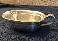 Reed And Barton 1941 Sterling X550 Mayflower Gravy Boat Andnbsp161grams