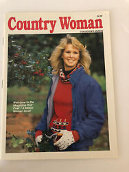 Country Woman Magazine 1993 Collector Edition Magazine Jean Quilt Doorstop Doll