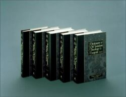 New International Dictionary Of Old Testament Theology And Exegesis [5 Volume Se