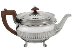 Sterling Silver Teapot Antique George Iii 1809