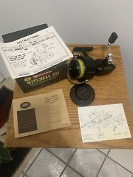 Vtg.nos Fishing Reel Garcia Mitchell 300 Papers/partial Box Never Used W/line