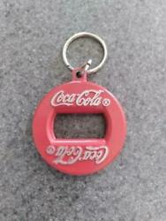 Vintage 27 Red Coca Cola Coke Bottle Opener Key Chain Made In Canada