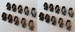 20 Sheet Metal Wire Loom Clips 1930 And Up Ford Mercury Gm Gmc Pickup Buick Olds