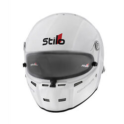 Stilo St5 Fn Composite Fia And Snell Approved Race Helmet White With Fhr Posts