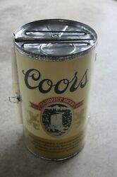 Vintage Rare Coors Beer Can-do Fold Out Bbq Barbeque Tailgate Picnic Grill Nice