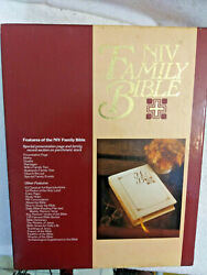 Vntg '86 Niv Holy Bible Family Tree Edition Large New American Bible Unused 9x12
