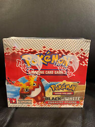 Genuine Factory Sealed Black And White Emerging Powers Pokemon 36 Booster Pack Box