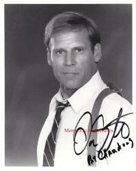 Don Stroud Mike Hammer And Dragnet Signed Autographed 8x10 Bandw Photo