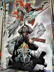 Final Sale Very Rare Sony Playstation 2 Ps2 Gungrave Od Overdose Promo Poster